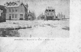 ANNEMASSE - 656  0.2 - Place De La Gare- Hiver 1899.  RARE- Pas Sur Delcampe. - Annemasse
