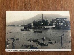 PALERMO PICCOLO PORTO SANT'ERASMO II    FOTOGRAFICA EDIZIONE NPG - Palermo