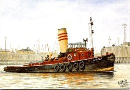 Tugboat M T Rana - Rimorchiatori