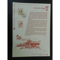 Document Officiel La Poste - Année Du Singe - Documents Of Postal Services