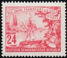 GERMAN DEMOCRATIC REPUBLIC - Scott #153 Frankfurt On Oder, 700th Anniv. / Mint NG Stamp - Ungebraucht