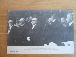 Visite Presidentielle Poincare. Clemenceau - Metz