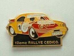 PIN'S PORSCHE 911 - JOSE BARBARA - 12éme RALLYE CEDICO - Porsche