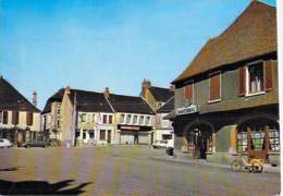 58 - CHATEAU CHINON Place St Christophe ( Commerces )  CPSM CPM Grand Format Poste 1986 - Nièvre - Chateau Chinon