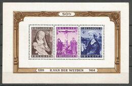 Belgique Belgie COB BL28-Bloc Feuillet MNH / NSC / ** 1949 Van Der Weyden - Blocchi 1924 – 1960