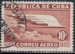 Cuba, Scott #C23, Used, Allegory Of Flight, Issued 1936 - Luchtpost