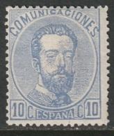 Spain 1872 Sc 181 Ed 121 MH Disturbed Gum - Ungebraucht