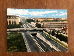 MILANO TRIPLO CAVALCAVIA DEL VIALE DE GASPERI  1966 - Milano (Milan)