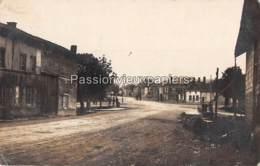 CARTE PHOTO ALLEMANDE PAUVRES 1917 PLACE DES MAZINS HÔTEL DE L'ESPERANCE - Other Municipalities