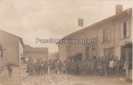CARTE PHOTO ALLEMANDE GRANDHAM 1916 LICHTSPIELE (CINEMA) - Autres Communes