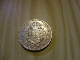 Grande-Bretagne - Half Crown Elizabeth II 1963.N°229. - 1902-1971 : Monete Post-Vittoriane