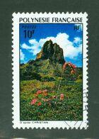 Paysage / Landscape; Polynésie Française / French Polynesia; Scott # 281; Usagé (3411) - Polinesia Francese