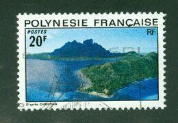 Paysage / Landscape; Polynésie Française / French Polynesia; Scott # 283; Usagé (3415) - Polinesia Francese