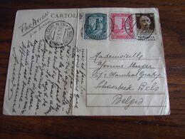Italie: Entier Postal (pliés Verticalement) à 30c (brun) + Timbres De SOMALIE ITALIENNE (45c) Oblitérés POSTA MILITARE - Italia