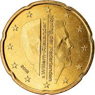 Pays-Bas, 20 Euro Cent, 2016, SUP, Laiton - Pays-Bas
