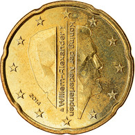 Pays-Bas, 20 Euro Cent, 2014, SUP, Laiton - Pays-Bas