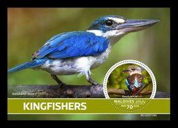 Maldives 2020 Mih. 9085 (Bl.1475) Fauna. Birds. Kingfishers MNH ** - Malediven (1965-...)