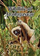 Grenada 2020 Fauna Wildlife Of Madagascar, ,Sifaka , Lemur   I202008 - Grenada (1974-...)