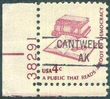 USA Alaska Local Precancel CANTWELL Type 1 Black  4c Americana ** MNH Vorausentwertung Timbre Préoblitéré # P01-841 - Precancels