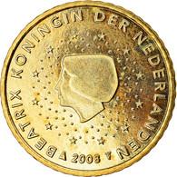 Pays-Bas, 50 Euro Cent, 2008, SUP, Laiton, KM:270 - Pays-Bas