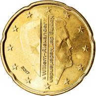Pays-Bas, 20 Euro Cent, 2017, SUP, Laiton - Pays-Bas