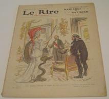 LE RIRE N° 525 -1913 - Numéro Spécial - Marianne Et Raymond - Willette - Florés - 1900 - 1949