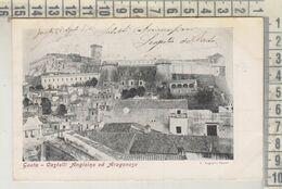 GAETA LATINA  CASTELLI ANGIOINO ED ARAGONESE  1904 - Latina
