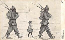 A-20-1723 : EDITION LAPINA. N° 2104. GUERRE EUROPEENNE 1914-1916. EDITION PATRIOTIQUE. LE SUSPECT. - War 1914-18