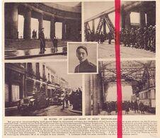Orig. Knipsel Coupure Tijdschrift Magazine - Duisburg - Moord Op Luitenant Graff - 1922 - Alte Papiere