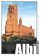 ALBI TARN - LA CATHEDRALE SAINTE CECILE, PAP ENTIER POSTAL CACHETS POSTAUX ALBI  VIGAN 2008, VOIR LES SCANNERS - Eglises Et Cathédrales