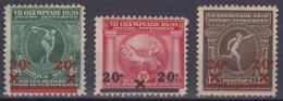 N°184/86 ** Jeux Olympiques D'Anvers 1920 Surch. 20c 1921 - Summer 1920: Antwerp