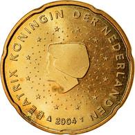Pays-Bas, 20 Euro Cent, 2004, TTB, Laiton, KM:238 - Pays-Bas