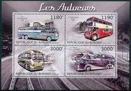 [32573]SUP//**/Mnh-c:19e-BURUNDI 2012 - Les Autocars, Transport, Bus - Busses