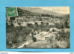 LA PALUD De CASTELLANE-rue Saint Victor-beau Plan- Vallée Du Verdon-a Voyagé En 1912-édition - Other Municipalities