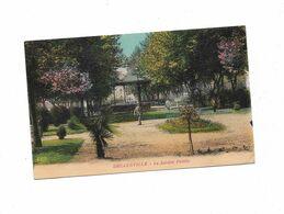 Cpa DECAZEVILLE Le Jardin Public - Decazeville