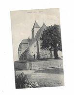 Cpa GIVRY Place - église - Altri Comuni