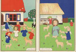 Illustrateur - James PENNYLESS - Lot De 4 CPSM - Otros Ilustradores