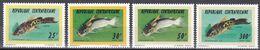 Tr_ Zentralafrikanische Republik 1995 - Mi.Nr. 1659 - 1662 - Postfrisch MNH - Tiere Animals Fische Fishes - Fishes