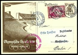 817 - GERMANY - 1936 - ZEPPELIN OLYMPIC FLIGHT - POSTCARD - FORGERY, FALSE, FAUX, FAKE, FALSCH - Non Classificati