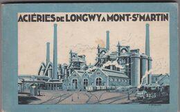 Aciérie De LONGWY -  MONT-SAINT-MARTIN - Carnet De 30 Cartes - Fours à Chaux De Billemont - Intérieurs D'Usine - Mont Saint Martin