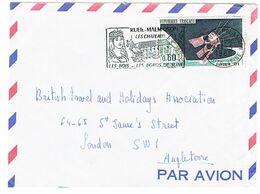 1476 SATELLITE D1 SEUL SUR LETTRE POUR LONDRES SECAP RUEIL MALMAISON - 1961-....