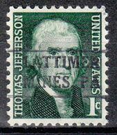 USA Precancel Vorausentwertung Preo, Locals Pennsylvania, Lattimer Nibes 883 - Estados Unidos