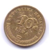 HRVATSKA 2012: 10 Lipa, KM 16 - Croazia
