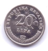 HRVATSKA 2010: 20 Lipa, KM 17 - Croazia