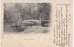 Val D'Oise : Forêt De CARNELLE : Pierre Turquoise ( Précurseur ) - Otros Municipios