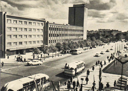 Lithuania, Klaipeda 1965, Monte Street, Bus, Auto, Unused - Litauen