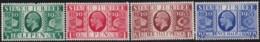 Great Britain  .    Yvert    .    201/204       .     *    .     Mint-hinged   .   /   .   Ongebruikt - Unused Stamps
