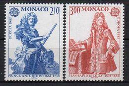 MONACO ( POSTE ) Y&T N°  1459/1460  TIMBRES  NEUFS  SANS  TRACE  DE  CHARNIERE , A  VOIR . N 1 - Unused Stamps