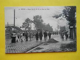 Reims ,départ Du CBR - Reims