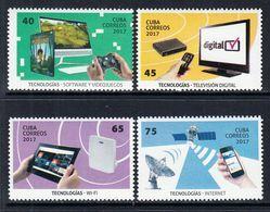 2017 Cuba Information Technology Complete Set Of 4 MNH - Cuba